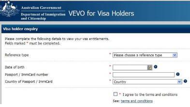澳洲签证查询需要提供哪些信息?